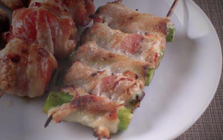 Aspargo c/ Bacon